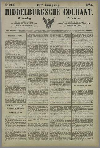 Middelburgsche Courant 1884-10-15