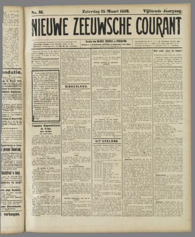 Nieuwe Zeeuwsche Courant 1919-03-15