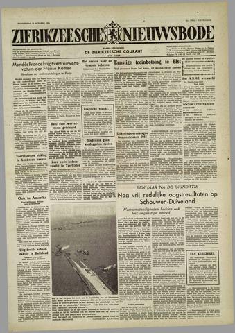 Zierikzeesche Nieuwsbode 1954-10-14