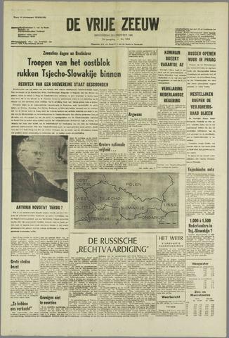 de Vrije Zeeuw 1968-08-22