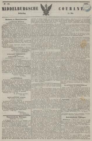 Middelburgsche Courant 1850-05-11