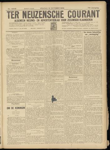 Ter Neuzensche Courant. Algemeen Nieuws- en Advertentieblad voor Zeeuwsch-Vlaanderen / Neuzensche Courant ... (idem) / (Algemeen) nieuws en advertentieblad voor Zeeuwsch-Vlaanderen 1934-10-12
