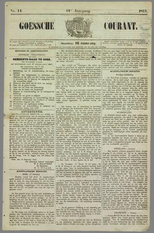 Goessche Courant 1857-02-16