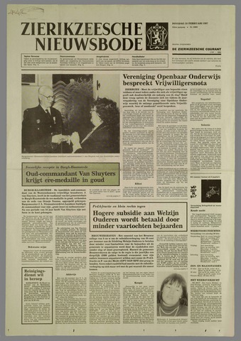Zierikzeesche Nieuwsbode 1987-02-24