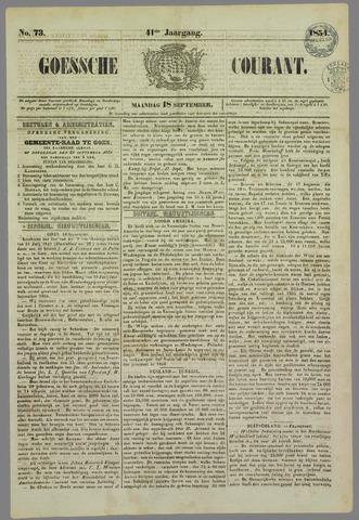 Goessche Courant 1854-09-18