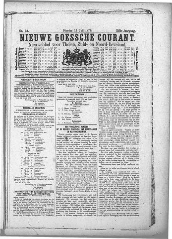 Nieuwe Goessche Courant 1876-07-11