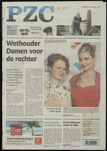 Provinciale Zeeuwse Courant 2014-09-13