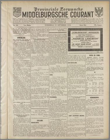 Middelburgsche Courant 1932-09-29