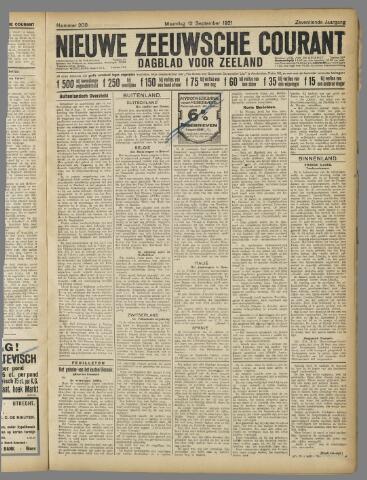 Nieuwe Zeeuwsche Courant 1921-09-12