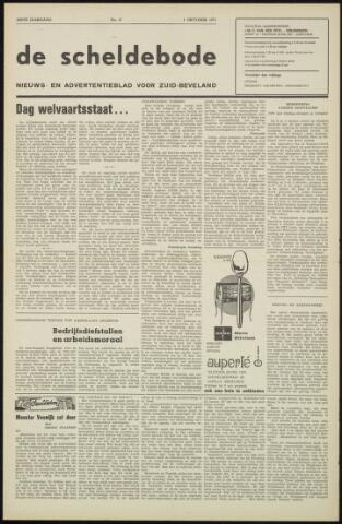 Scheldebode 1971-10-01