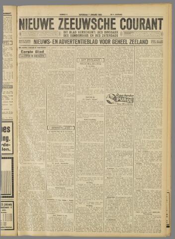 Nieuwe Zeeuwsche Courant 1933-01-07