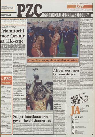 Provinciale Zeeuwse Courant 1988-06-27