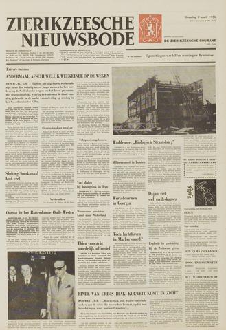 Zierikzeesche Nieuwsbode 1973-04-02