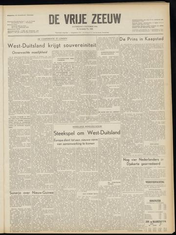 de Vrije Zeeuw 1954-10-02