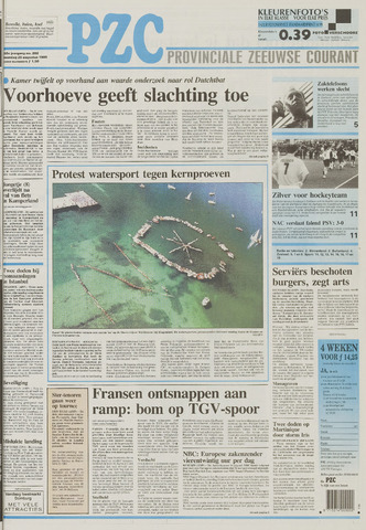 Provinciale Zeeuwse Courant 1995-08-28
