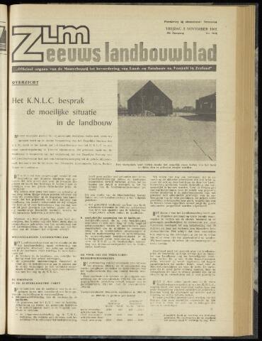 Zeeuwsch landbouwblad ... ZLM land- en tuinbouwblad 1962-11-02