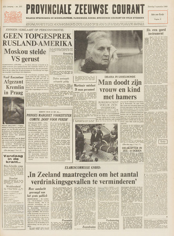 Provinciale Zeeuwse Courant 1968-09-07