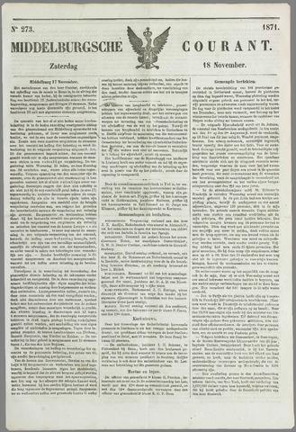 Middelburgsche Courant 1871-11-18