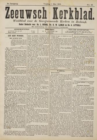 Zeeuwsche kerkbode, weekblad gewijd aan de belangen der gereformeerde kerken/ Zeeuwsch kerkblad 1908-05-01