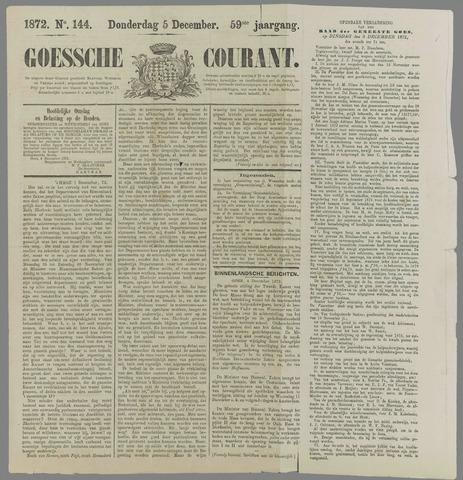Goessche Courant 1872-12-05