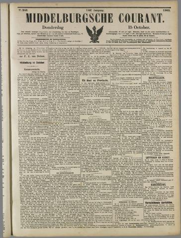 Middelburgsche Courant 1903-10-15