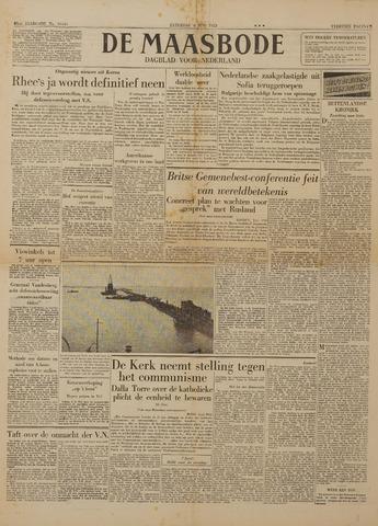 Watersnood documentatie 1953 - kranten 1953-06-06