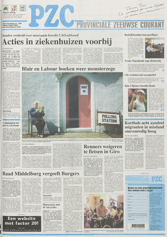 Provinciale Zeeuwse Courant 2001-06-08