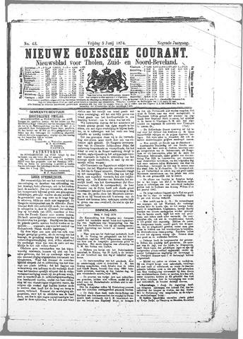 Nieuwe Goessche Courant 1874-06-05