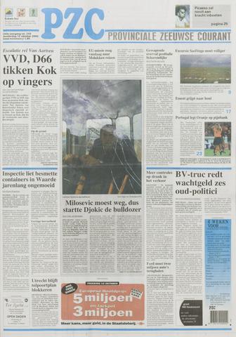 Provinciale Zeeuwse Courant 2000-10-12