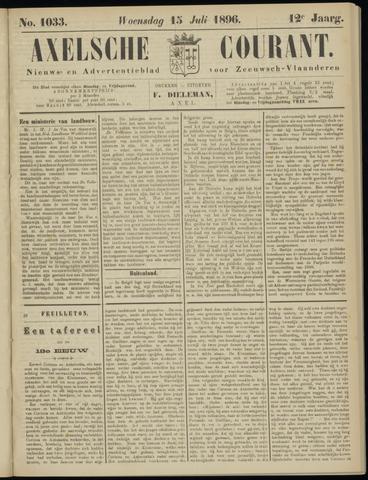 Axelsche Courant 1896-07-15