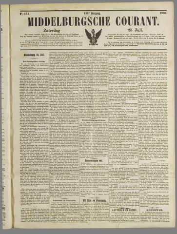 Middelburgsche Courant 1908-07-25