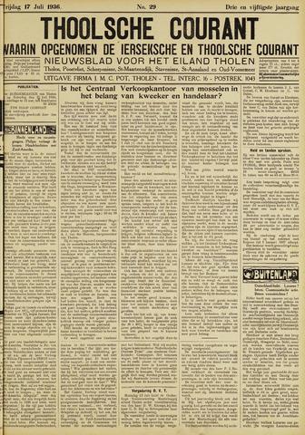 Ierseksche en Thoolsche Courant 1936-07-17