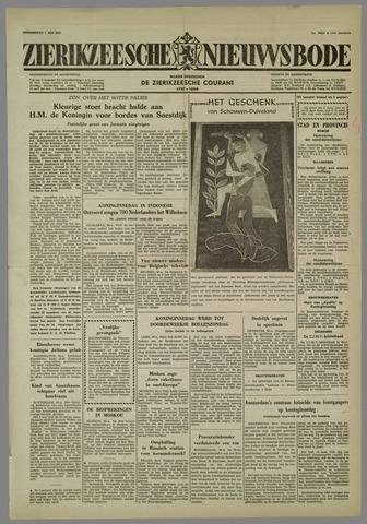 Zierikzeesche Nieuwsbode 1958-05-01