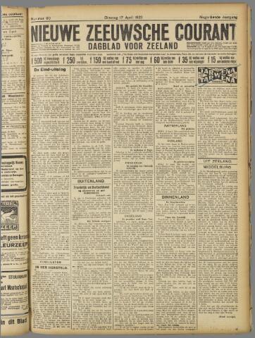Nieuwe Zeeuwsche Courant 1923-04-17