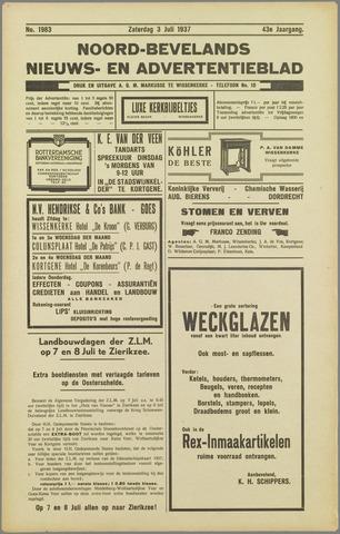 Noord-Bevelands Nieuws- en advertentieblad 1937-07-03
