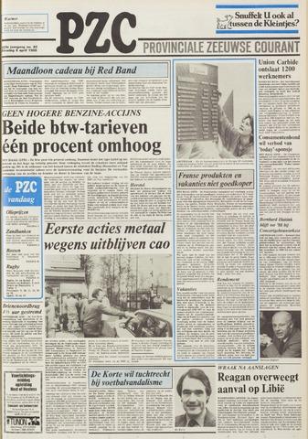 Provinciale Zeeuwse Courant 1986-04-08