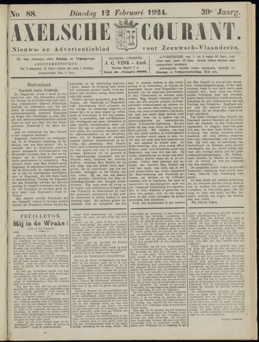 Axelsche Courant 1924-02-12