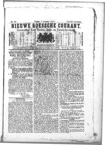 Nieuwe Goessche Courant 1877-12-07