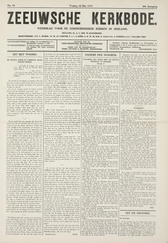 Zeeuwsche kerkbode, weekblad gewijd aan de belangen der gereformeerde kerken/ Zeeuwsch kerkblad 1935-05-10