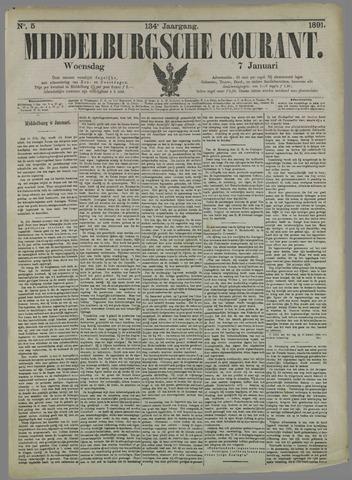 Middelburgsche Courant 1891-01-07