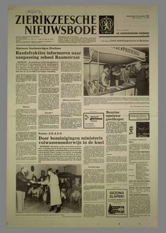 Zierikzeesche Nieuwsbode 1982-11-18