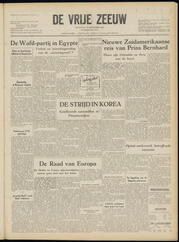 de Vrije Zeeuw 1952-09-29
