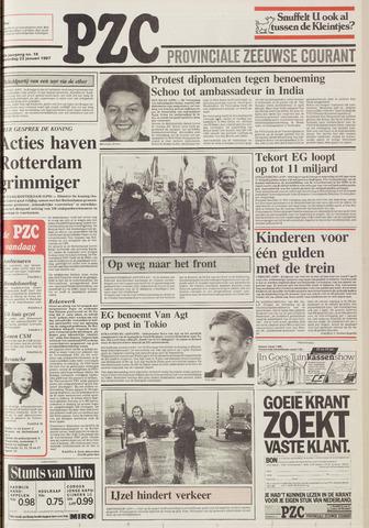 Provinciale Zeeuwse Courant 1987-01-22