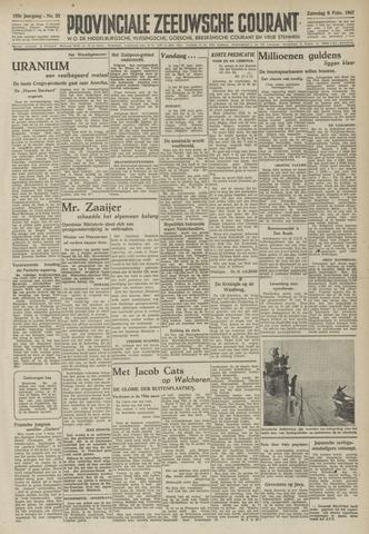 Provinciale Zeeuwse Courant 1947-02-08