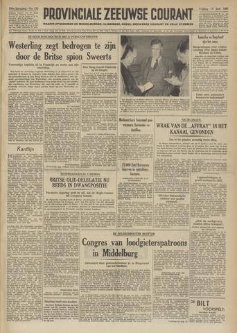 Provinciale Zeeuwse Courant 1951-06-15