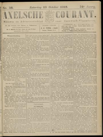 Axelsche Courant 1918-10-19