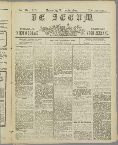 De Zeeuw. Christelijk-historisch nieuwsblad voor Zeeland 1912-09-30