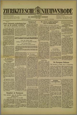 Zierikzeesche Nieuwsbode 1952-04-21