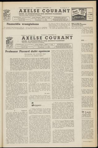Axelsche Courant 1953-09-02