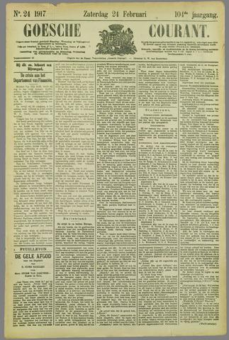 Goessche Courant 1917-02-24